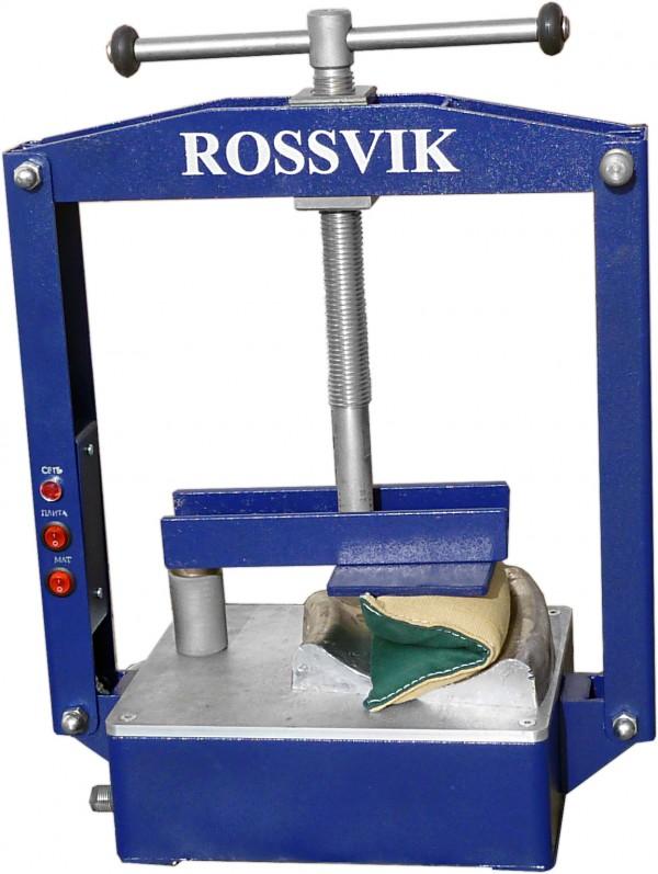 Вулканизатор для ремонта камер ROSSVIK Термопресс-1М (ТП-1М, со смещенным центром)