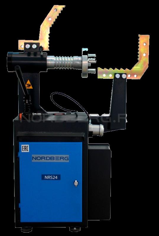 NRS24 - размер ремонтируемых дисков 10-24, ручной привод гидроцилиндра