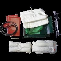 Комплект оснастки к вулканизатору Комплекс-3 (2 гибких нагревателя и 2 пневмоподушки в чехлах, арт. 01 115)