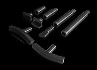 Комплект упоров и вставок для правки дисков для легкосплавных и универсальных  стендов