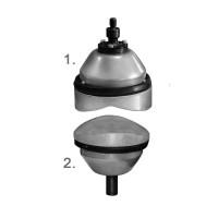 Комплект накладок с прижимами для вулканизаторов «Эльф-П» и «Эребус»
